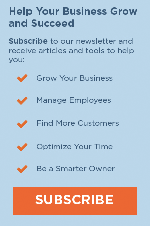Sign up for the Small Biz Ahead Newsletter